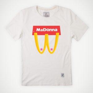 Madonna-tshirt-white