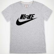 Niяke-tshirt-grey